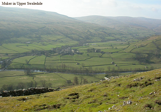 muker in upper swaledale