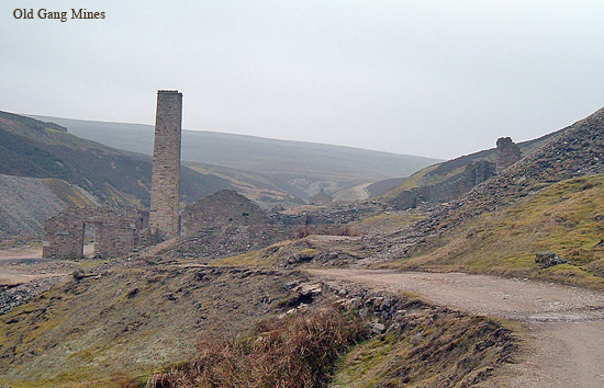 Old Gang mines, Swaledale