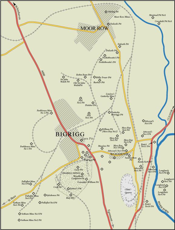 bigrigg map