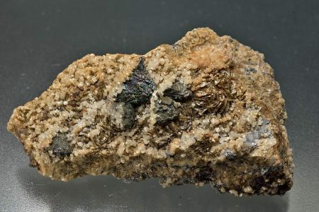 Tetrahedrite and Siderite