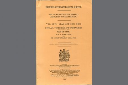 Special Reports of the Mineral Resources of Great Britain:Vol. XXVI
