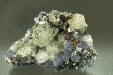Fluorite and Calcite