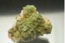 Pyromorphite on quartz
