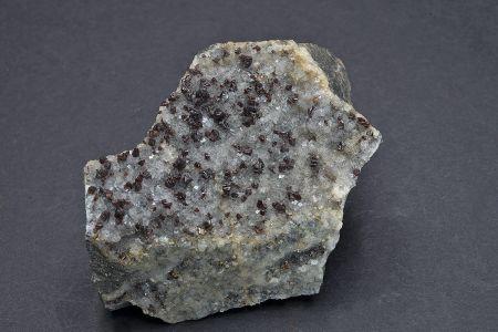 Sphalerite on Fluorite