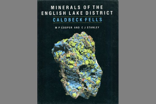 Minerals of the English Lake District - Caldbeck Fells