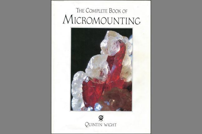The Complete book of Micromounting