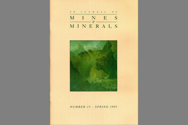 UK Journal of Mines & Minerals No. 15