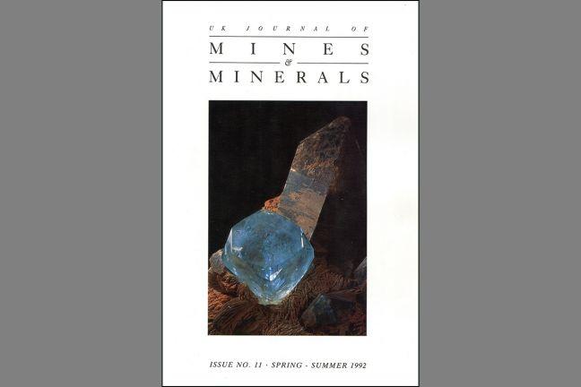 UK Journal of Mines & Minerals No. 11