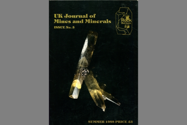 UK Journal of Mines & Minerals No. 5