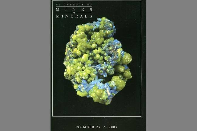 UK Journal of Mines & Minerals No. 23