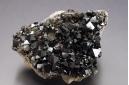 Magnetite and albite