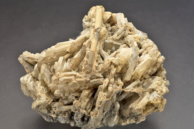 Barite and barite pseudomorphs after witherite