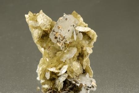 Siderite, Pyrrhotite & Calcite