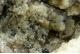 Hemimorphite & Galena on Fluorite