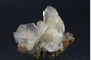 Barite on Orpiment