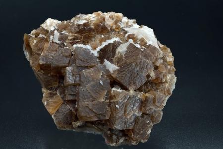 Calcite & Harmotome