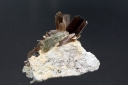 Brookite in Quartz