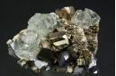 Fluorite and Pyrite