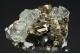 Fluorite and Pyrite