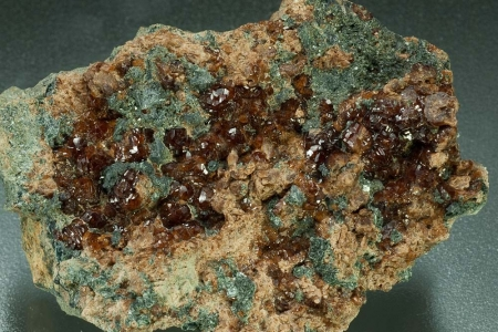 Grossular Var.Hessonite