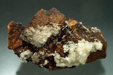 Siderite and Apatite