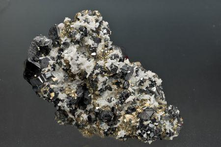Sphalerite, Pyrite  and  & Quartz