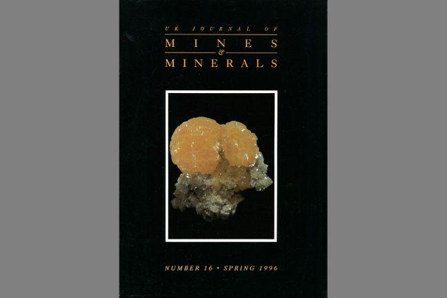UK Journal of Mines & Minerals No. 16