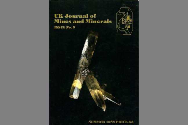 UK Journal of Mines & Minerals No. 5